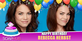 rebecca herbst leaving gh 2014 general hospital star rebecca herbst celebrated a very special day