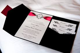 Red Wedding Invitations Black And Red Wedding Invitations Wedding Ideas