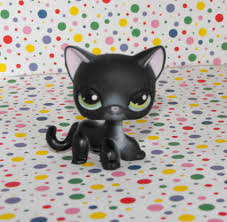 halloween lps 5 sold littlest pet shop 336 halloween spooky black kitty cat