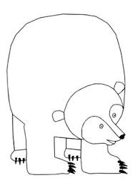 eric carle coloring pages brown bear brown bear activities u0026 printables mommy ideas