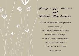 simple wedding invitation wording printable simple floral wedding invitations ewi182 as low as 0 94