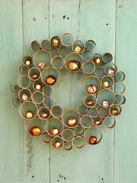 recycled crafts for holiday decor diy holiday decorations