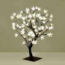 modern warm white led bonsai tree with 72 led twig lights