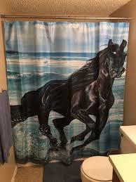 magic horse curtains three wild horses
