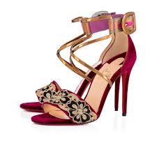Sabina 100 Fabric 100 Figue Fabric Women Shoes Christian Louboutin