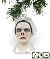 twilight zone eye of the beholder glass ornament middle