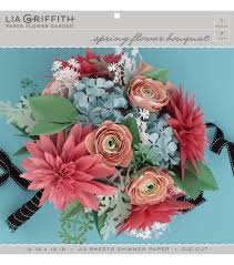 paper flower bouquet lia griffith paper flower garden flower bouquet joann