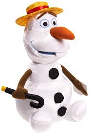 amazon disney frozen talking singing olaf plush toys u0026 games
