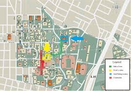 Kennesaw State University Campus Map by 100 Uca Campus Map Unc Charlotte Campus Map My Blog Nova