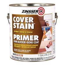 zinsser 1 gal white cover stain interior exterior primer and