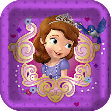 sofia the party supplies sofia the party supplies 7 inch dessert plate at toystop