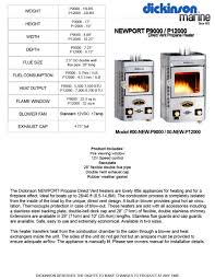 newport p9000 p12000 dickinson pdf catalogues documentation