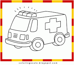 ambulance coloring pages fablesfromthefriends com