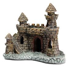 aquarium castle tower ornament for fish tank decoration alex nld
