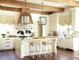 fabulous country kitchen decor and steinless steel pendant lamps