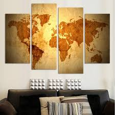 World Map Canvas Art by High Quality World Map Canvas Promotion Shop For High Quality