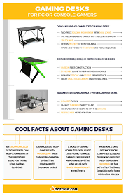 desks for gaming consoles 11 best gaming desk reviews of 2018 hotrate gaming