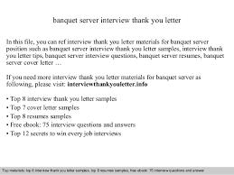 Banquet Server Resume Sample by Banquet Server