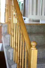 Sanding Banister Spindles Stairway Remodel Part 2 Sanding And Staining Stair Treads And