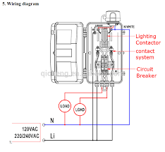 cjk 100 outdoor lighting control box lighting contactor led public