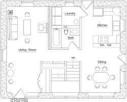 mountain cabin floor plans small mountain home floor plans laferida