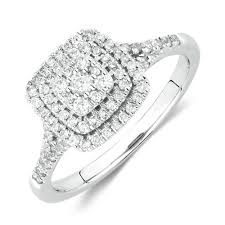 engagement rings with halo halo engagement rings michael hill canada