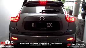juke nismo rear nissan juke exled led taillight rear reflector youtube