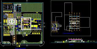 Industrial Floor Plans Industrial Plants Factories In Projects Kamocad