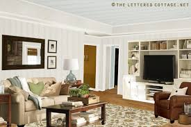 Popcorn Ceiling In A Can by Popcorn Ceiling To Plank Ceiling The Lettered Cottage