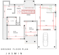 jasmin plan singco engineering dafodil model house advertising