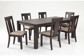 bobs furniture kitchen table set summit 42 x 78 7 dining set bob s discount furniture