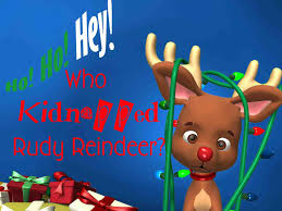 your mystery party who kidnapped rudy reindeer