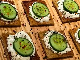 what does canape the sunday brunch and cheese cucumber canape subhabrata maitra