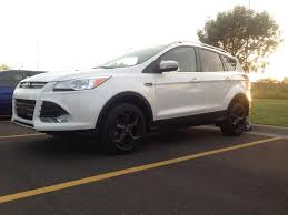 ford escape grey focus st wheels test fit 2013 2014 2015 2016 2017 ford