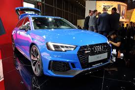 scorching new audi rs4 avant uncovered with 444bhp auto express