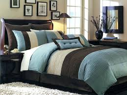 Blue And Brown Bed Sets Brown Comforter Sets Blue And Brown Comforter Sets King