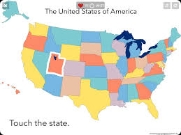 Alaska Us Map by The Us 50 States Map Quiz Game Us States Map Quiz States And Us