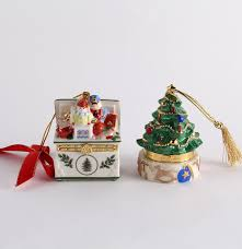 spode and lenox porcelain trinket box ornaments ebth