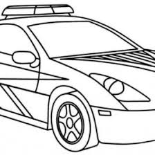 coloring pages police cars archives mente beta complete