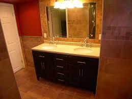 basement bathroom ideas for attractive looking interior midcityeast attractive cabinet also mirror and wall lamps for basement bathroom ideas
