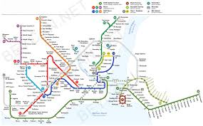 Metro Bus Map by