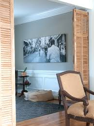 Shutter Room Divider by Shutters As Room Dividers Creativehomebody Comcreativehomebody Com