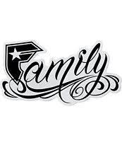 straps black white 6 family sticker zumiez