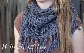 simple pattern crochet scarf chunky fringe infinity scarf crochet pattern fringe scarf simple