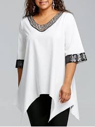 plus size white blouses plus size blouses s white lace black denim blouse sale