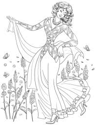 Woman From 80 S Coloring Page Free Printable Coloring Pages 80s Coloring Pages