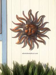 j7i5 outdoor wall decorations backyard large metal sun decor
