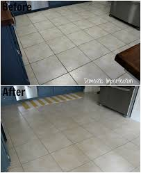 How To Clean Kitchen Tile Grout - how to make dirty grout look new domestic imperfection