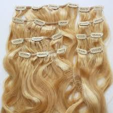 real hair clip in extensions curly clip in hair extensions produced by china human hair factory