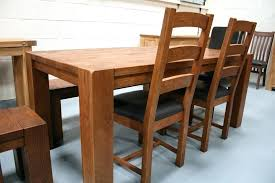 oak kitchen table and chairs solid oak dining table ameenahussein com
